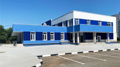 Завершено строительство ФОКа в Орехово-Зуевском городском округе