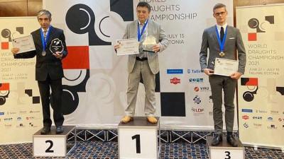 Житель Подмосковья стал чемпионом мира по шашкам
