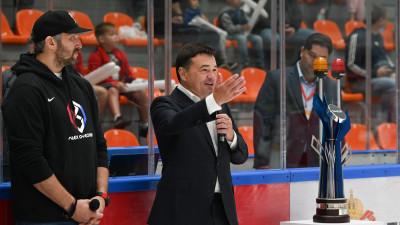Андрей Воробьев открыл финал хоккейного турнира «ОВИ-Cup»