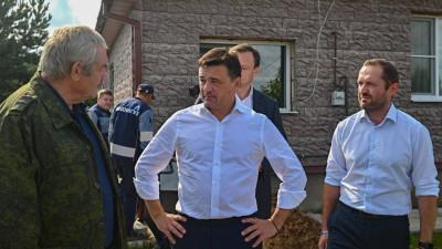 Андрей Воробьев проверил работу первого мобильного офиса социальной газификации