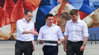 Андрей Воробьев проверил реконструкцию культурно-досугового центра в Орехово-Зуеве
