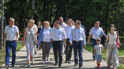 Андрей Воробьев с рабочим визитом посетил городской округ Дубна