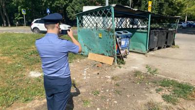 Более 2 тыс. нарушений содержания контейнерных площадок пресек Госадмтехнадзор в Подмосковье