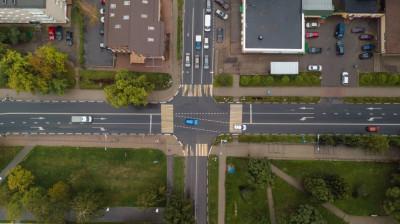 Дополнительные полосы появились на трех центральных перекрестках в Можайске
