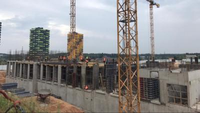 Строительство жилых домов в Солнечногорске