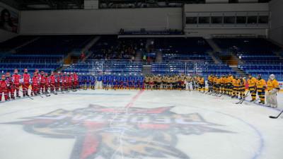 Хоккейный турнир «Кубок Александра Овечкина» стартовал в Подмосковье