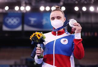 Игры XXXII Олимпиады в Токио: Анастасия Ильянкова выиграла «серебро» в соревнованиях по спортивной гимнастике на разновысоких брусьях