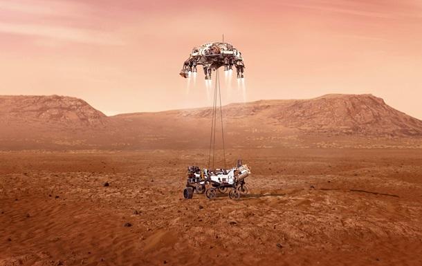 Марсоход совершил очередной успешный полет на Красной планете
