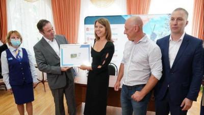 Наталья Виртуозова поздравила жителей Города воинской доблести Вереи с юбилеем