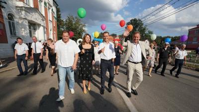 Наталья Виртуозова поздравила жителей Зарайска с 875-летием города