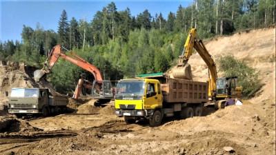 Незаконную разработку недр пресекли в городском округе Истра