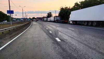 Около 25 километров Каширского шоссе отремонтировали в округе Домодедово