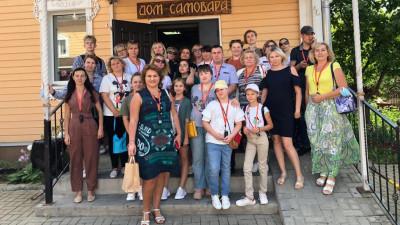 Победители конкурса «Лучший подъезд Подмосковья» из Подольска посетили Коломну