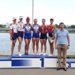 Подмосковные спортсмены завоевали 7 медалей на чемпионате России по гребному спорту