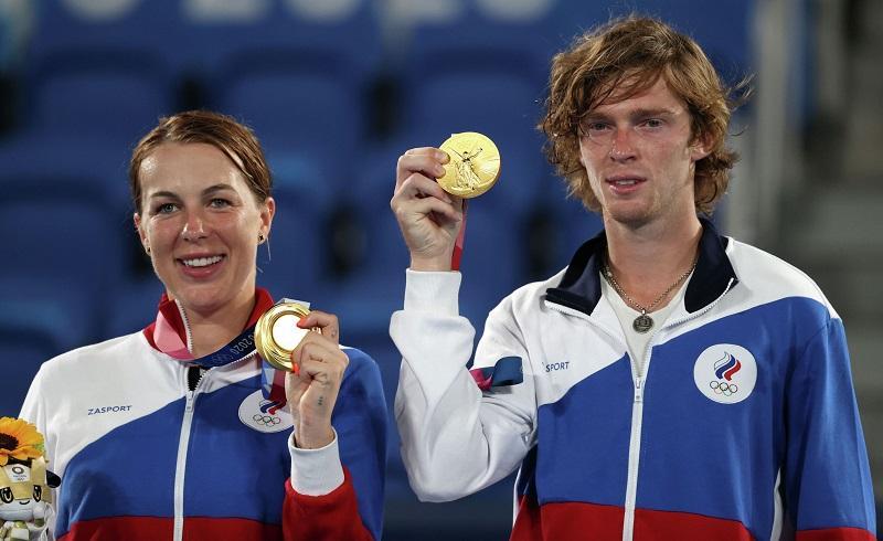Подмосковные теннисисты завоевали две медали в Токио