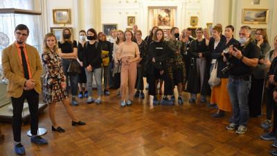 Презентация выставки современного искусства прошла в Серпуховском музее