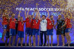 Российская сборная выиграла Чемпионат мира по пляжному футболу