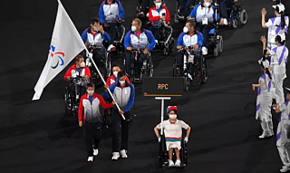 Российские паралимпийцы приняли участие в церемонии открытия XVI Паралимпийских летних игр
