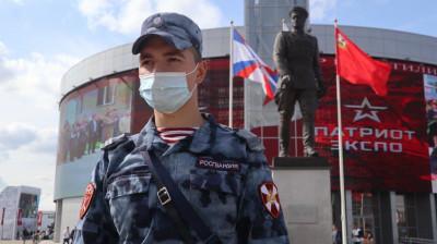 Сотрудники Росгвардии приняли участие в обеспечении безопасности форума «АРМИЯ-2021»