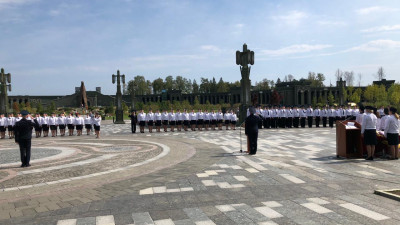 Сто двадцать сотрудников органов принудительного исполнения принесли присягу в Подмосковье