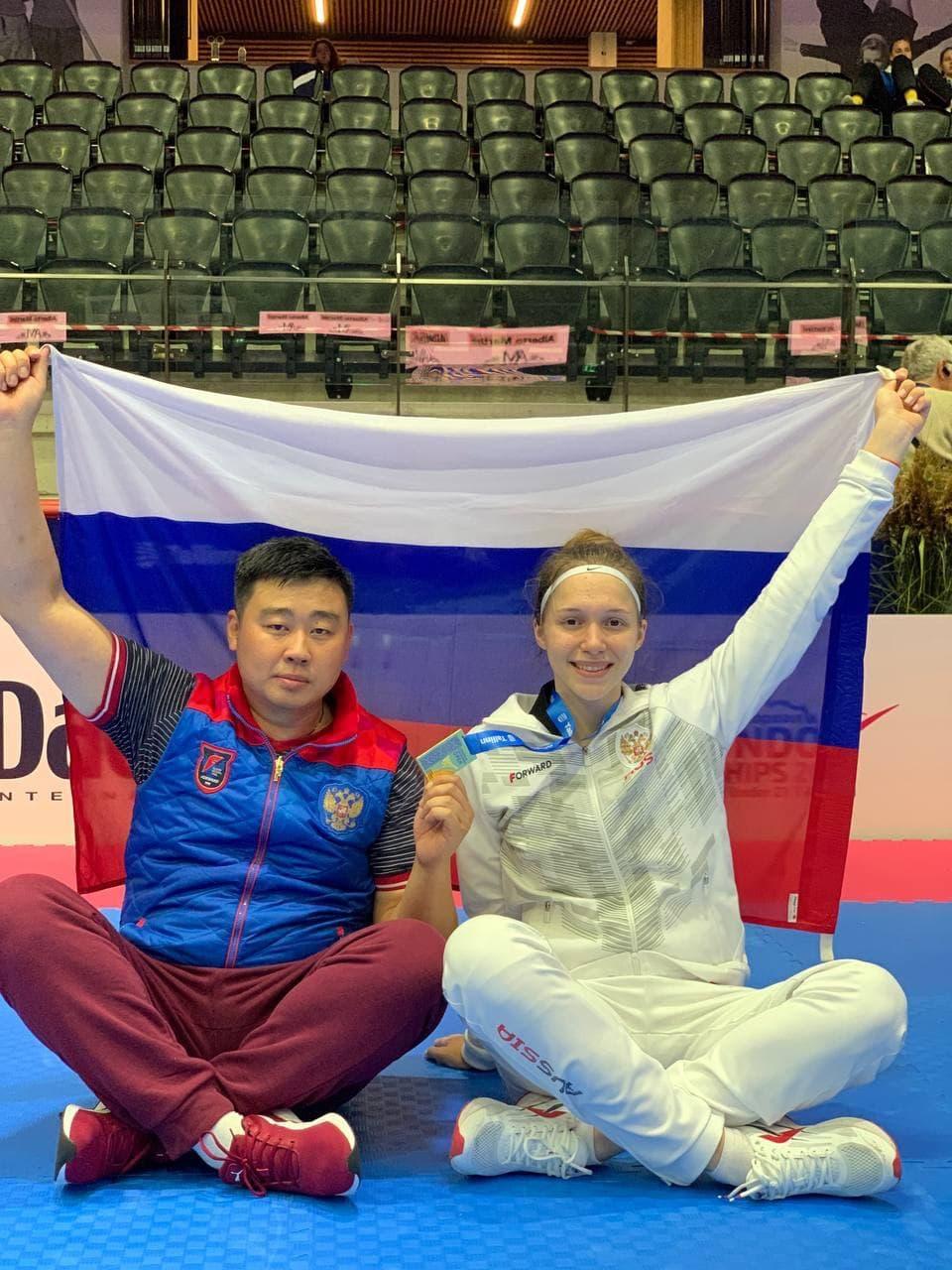 Тхэквондистка из Подмосковья стала лучшей на первенстве Европы среди юниоров