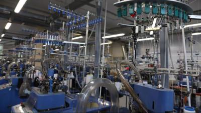 Трикотажную фабрику построили в Подмосковье