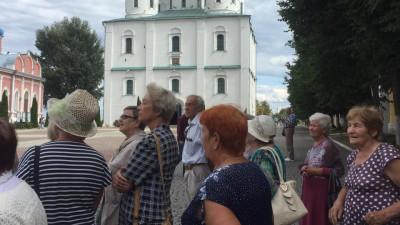 Участники проекта «Активное доголетие» посетили Главный храм ВС РФ в Подмосковье