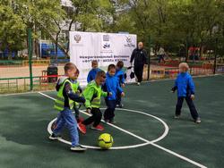В рамках федерального проекта «Спорт – норма жизни» продолжается реализация инклюзивного проекта «Футбол – школа жизни»