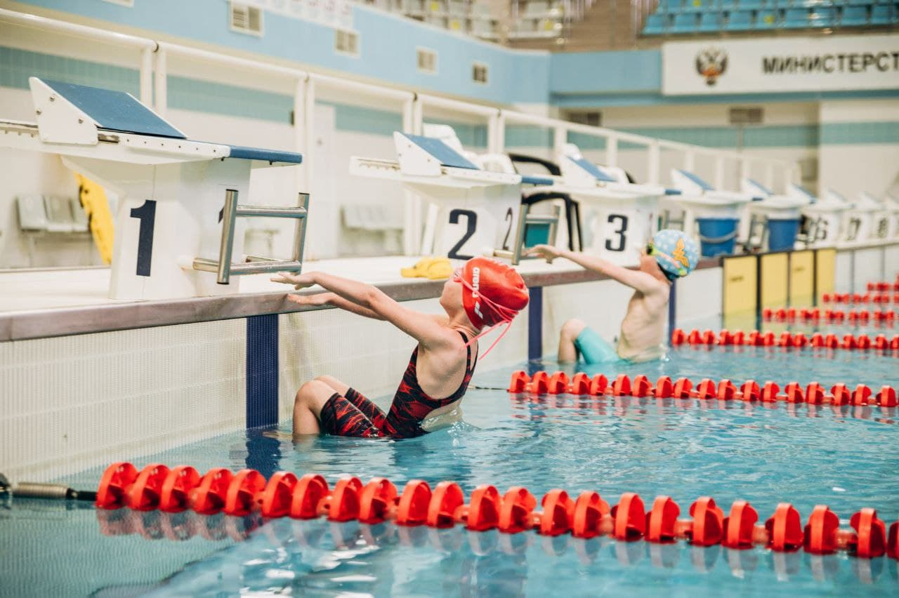 В Рузе осуществили попытку установления рекорда России по плаванию среди детей