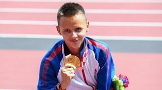 XVI Паралимпийские летние игры: Александр Яремчук - чемпион в беге на 1 500 метров