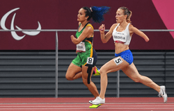 XVI Паралимпийские летние игры: Анастасия Соловьёва - обладательница бронзовой награды в беге на 400 м