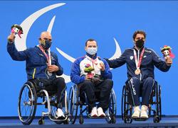XVI Паралимпийские летние игры: Дмитрий Черняев - чемпион в плавании на дистанции 100 метров брассом с новым мировым рекордом