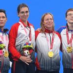 XVI Паралимпийские летние игры: российские спортсмены выиграли три золотые и две серебряные медали в плавании