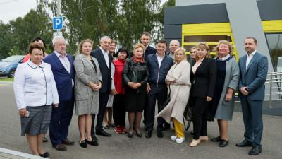 Андрей Воробьев с рабочим визитом посетил городской округ Домодедово