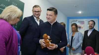 Андрей Воробьев с рабочим визитом посетил городской округ Красногорск