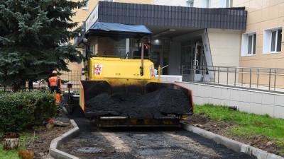 Асфальт на территории 5 медучреждений заменят в Дмитровском округе