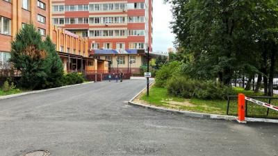 Асфальт заменят на территории 9 медучреждений в Пушкине