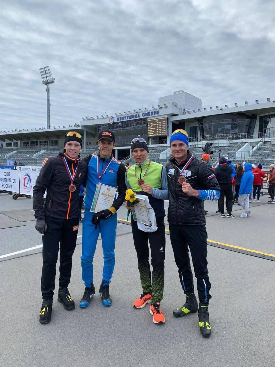 Атлеты из Подмосковья завоевали бронзовые медали на чемпионате России по летнему биатлону