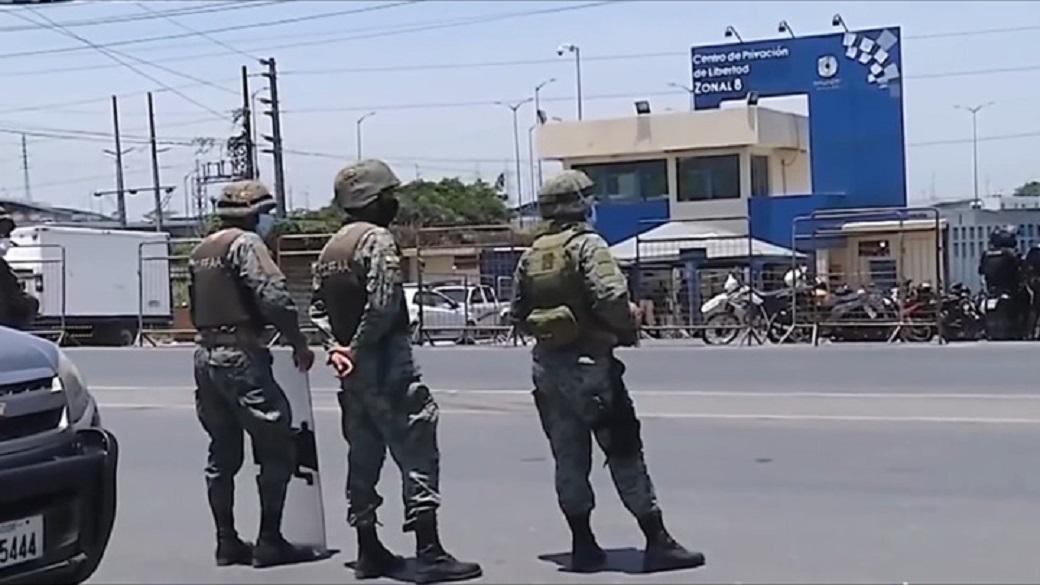 бойня в эквадорской тюрьме 116 погибших 80 раненых
