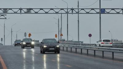 Более 10,2 тыс. автомобилей проехало по новому путепроводу в Мытищах за один день