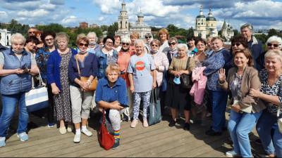 Более 22,5 тыс. участников «Активного долголетия» посетили экскурсии в Подмосковье