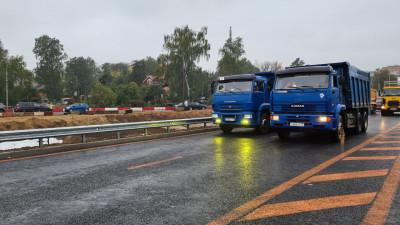 Движение по первому этапу путепровода с выездом на Ярославское шоссе открыли в Мытищах