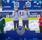 Елена Осипова и Галсан Базаржапов – серебряные призёры Чемпионата мира по стрельбе из лука