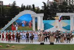 Фестиваль культуры и спорта народов Юга России стартовал в Крыму