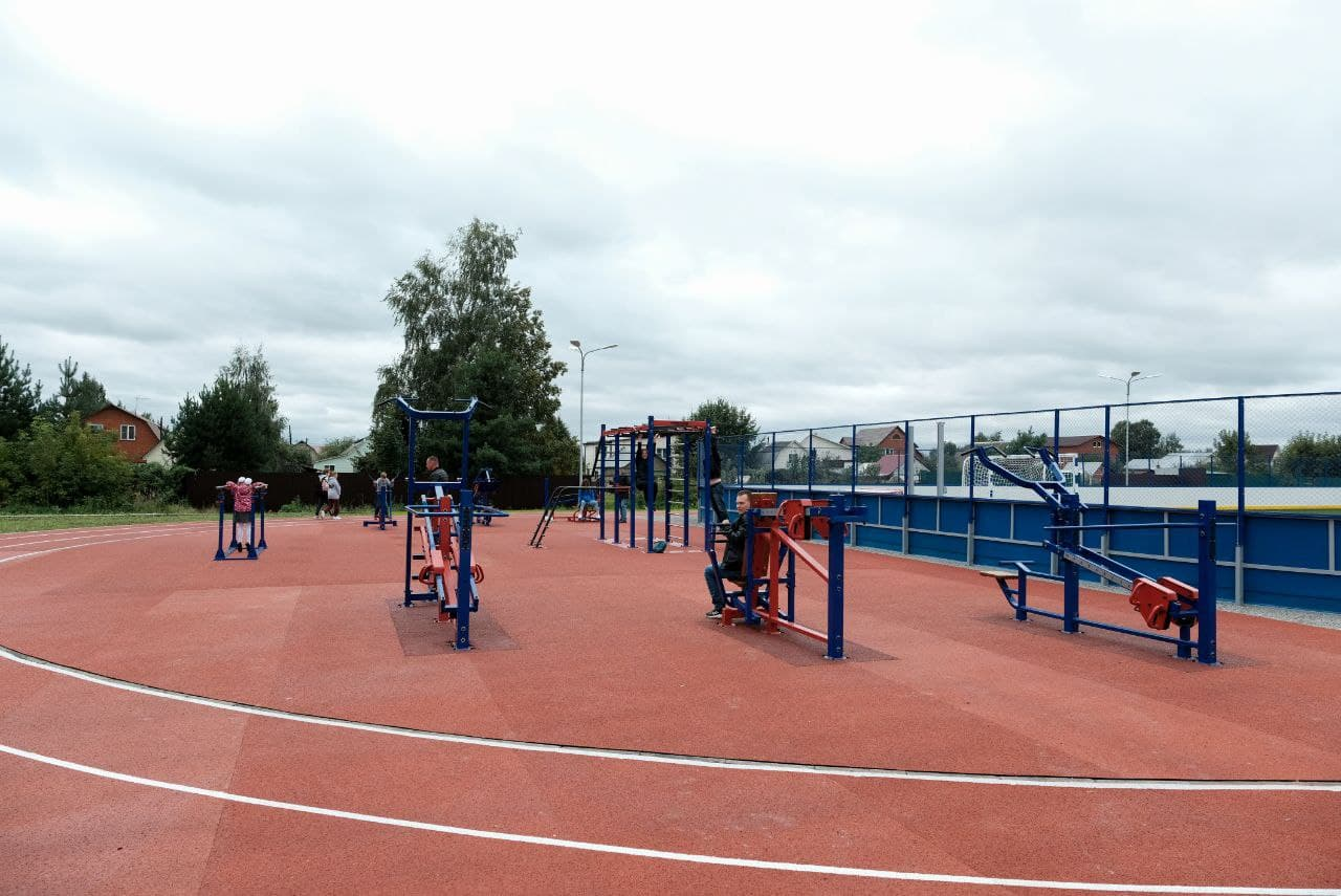 Физкультурно-оздоровительный комплекс открытого типа открыли в Раменском округе