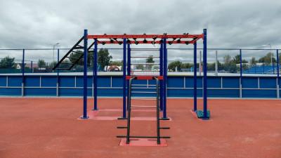 Физкультурно-оздоровительный комплекс открытого типа открыли в Раменском