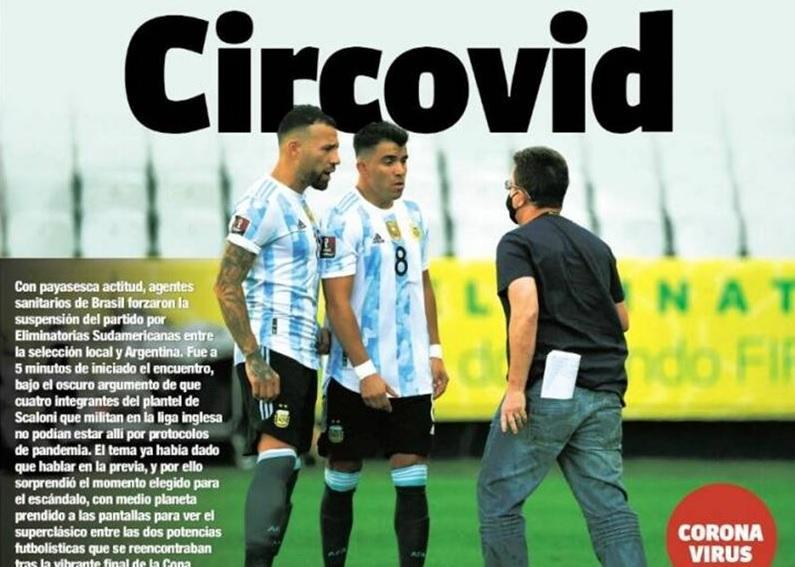 матч бразилия аргентина сорван из-за нарушения карантинных норм