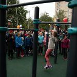 Новую спортивную площадку установили в Люберецком округе