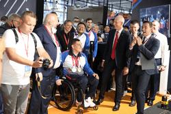 Олег Матыцин открыл павильон «Спорт – норма жизни» на Восточном экономическом форуме