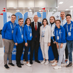 Олег Матыцин посетил Академию лидеров волонтёров FISU в рамках IX Международного спортивного форума «Россия – спортивная держава»